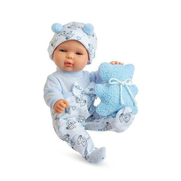 Imagen de Muñeco Baby Smile Azul