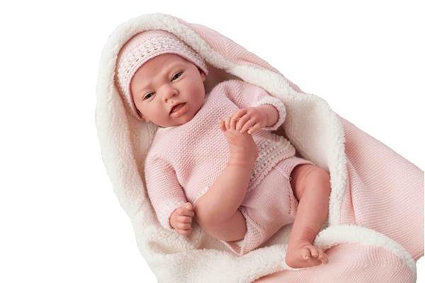 Imagen de muñeca reborn laura peluche