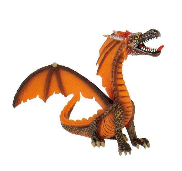 Imagen de Figura Dragon Naranja