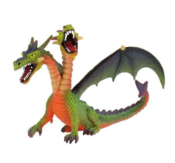 Imagen de Figura Dragon Dos Cabezas Verde