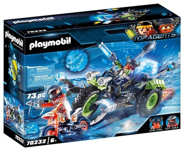 Imagen de Triciclo De Hielo Playmobil Top Agents