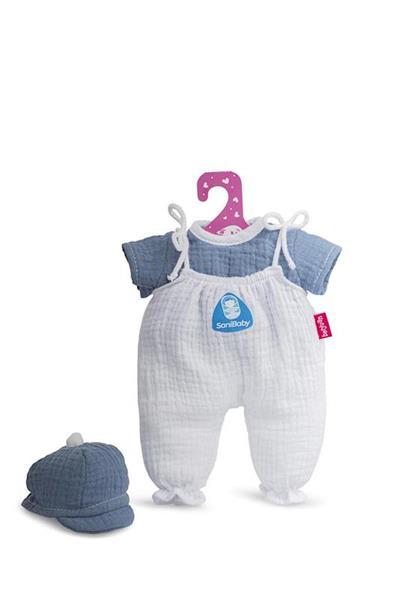 Imagen de SaniBaby Ropa Antibacterias Azul Bebé