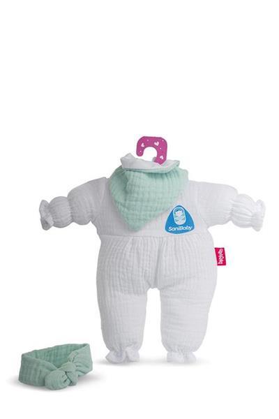 Imagen de SaniBaby Ropa Antibacterias Verde Bebé