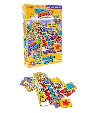Juego de Mesa SuperZings Powers Kid Kazoom